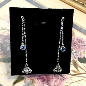 Jewelry - NEW S925 Seashell Drop Post Earrings